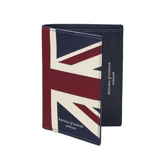 Brit Credit Card Wallet with Notes Pocket from Aspinal of London