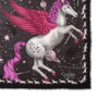 Pegasus Cashmere Blend Scarf in Fuchsia from Aspinal of London